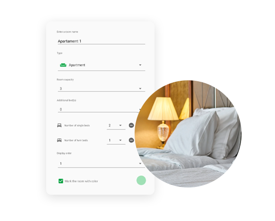 Showcase how add new room in BedBooking app